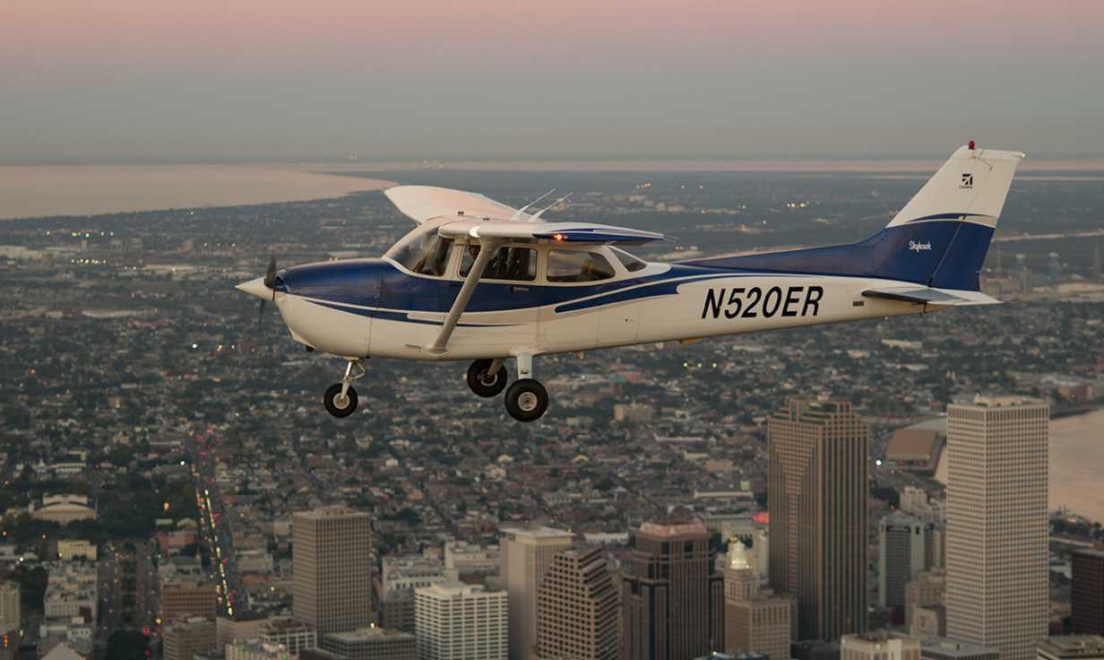 C172 Aerial View