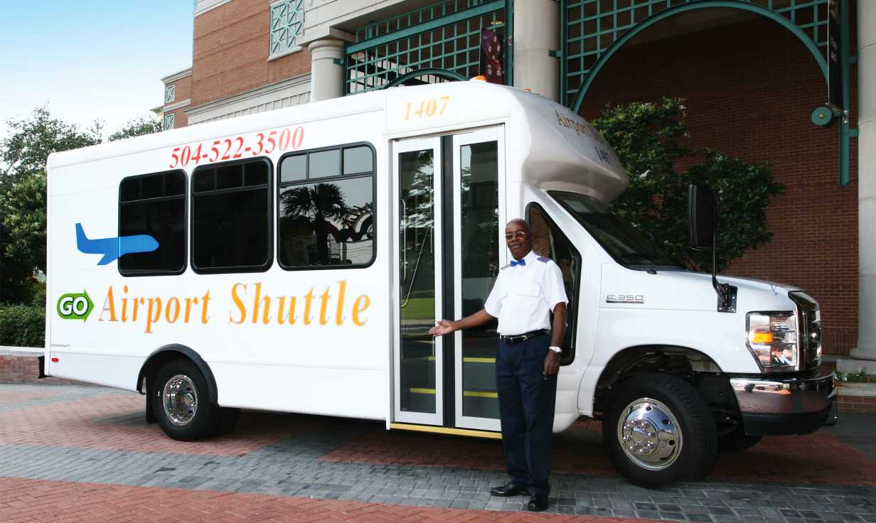 Airport Shuttle New Orleans Van