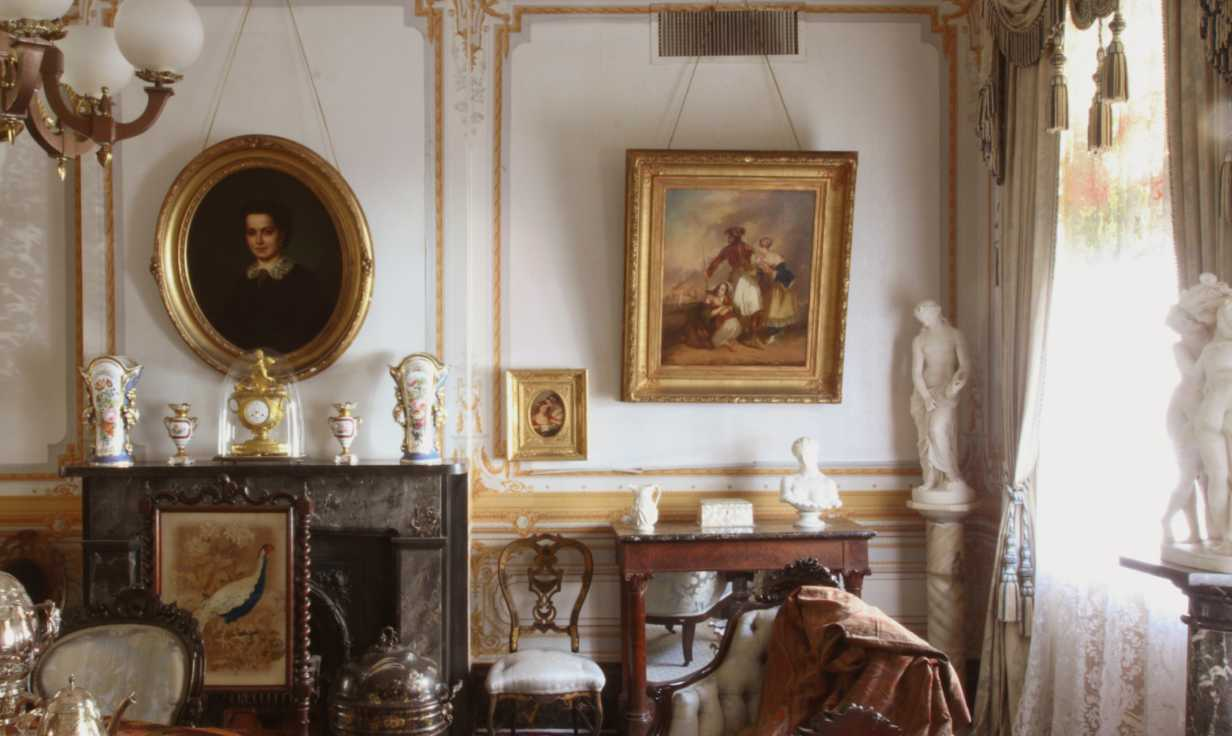 Gallier House Parlor