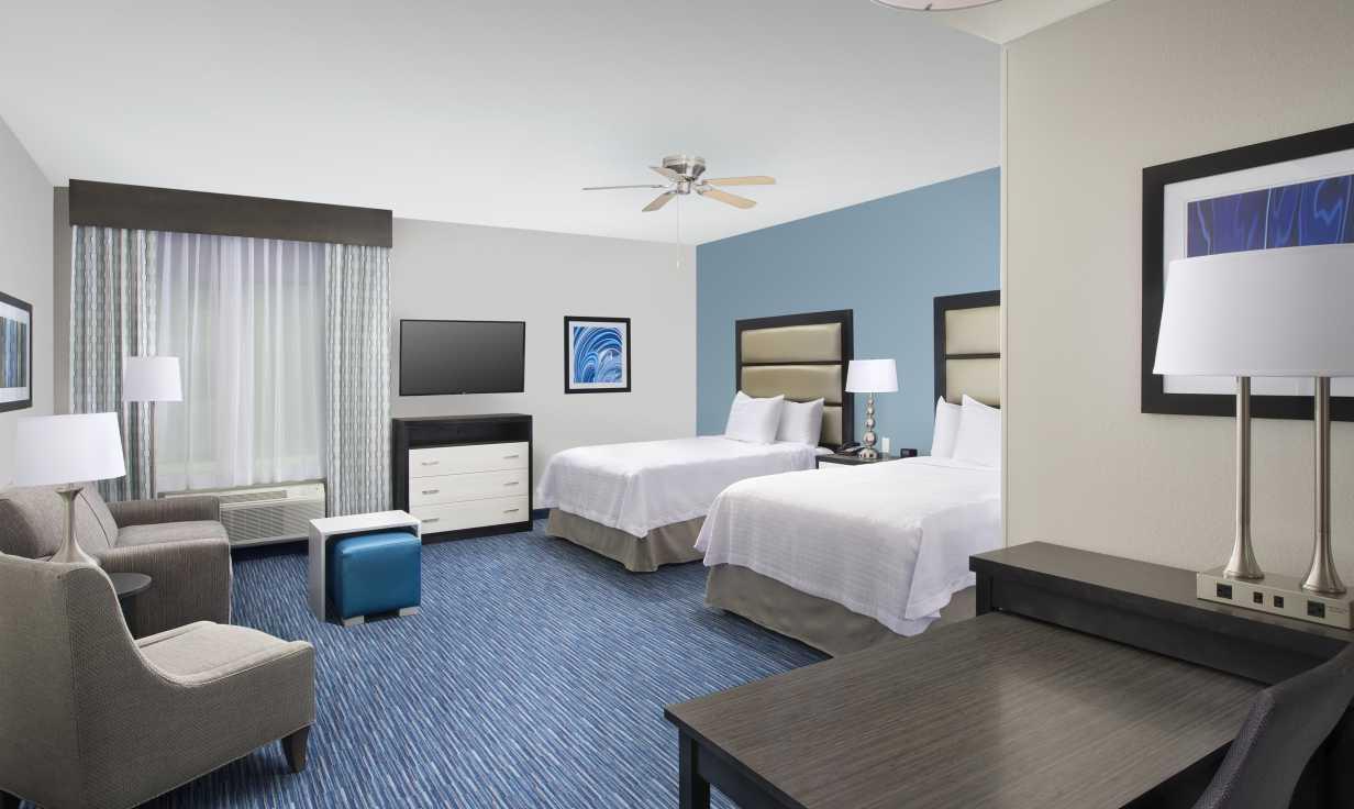 Homewood Suites Metairie Junior Suite Double Guestroom