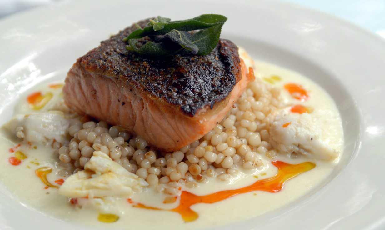 Cafe Degas Fish Dish