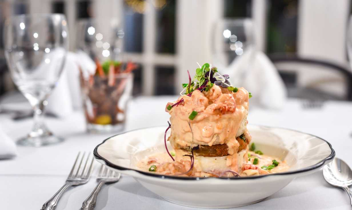 Crawfish Napoleon at the Court of Two Sisters