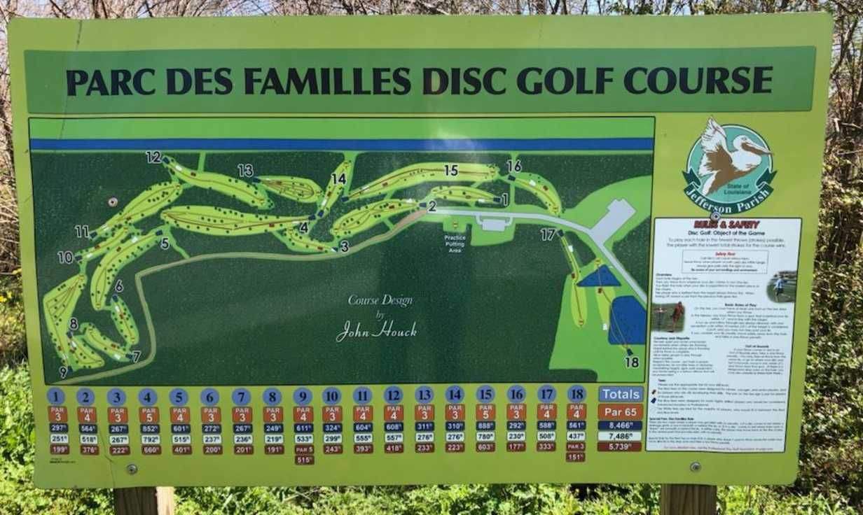 Parc Des Familles Course Map