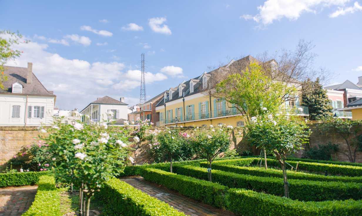 BK Garden looking towards Chartres