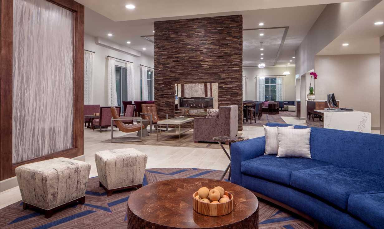 Homewood Suites FQ Lobby