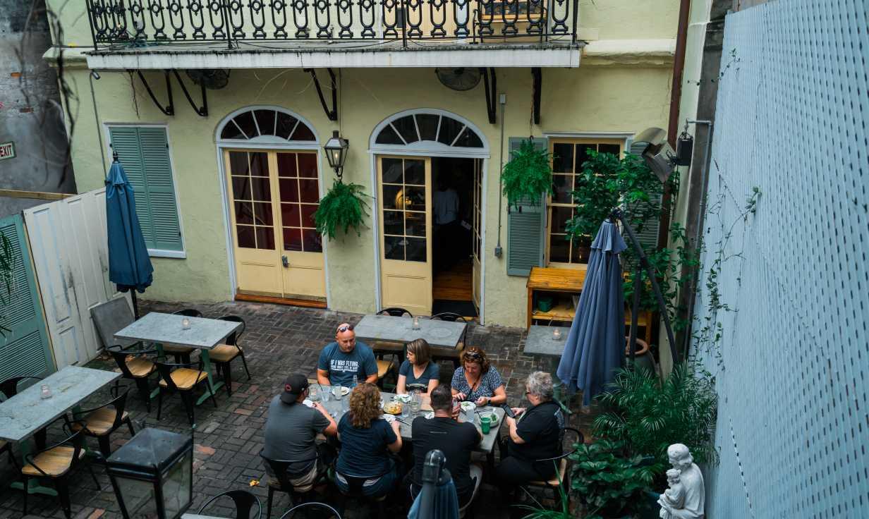Longway Tavern Courtyard #2