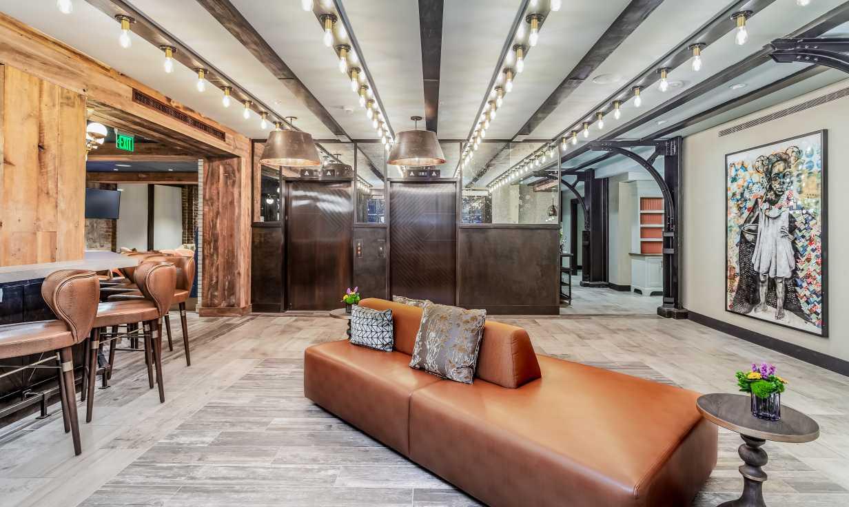 The Mercantile Hotel Lobby
