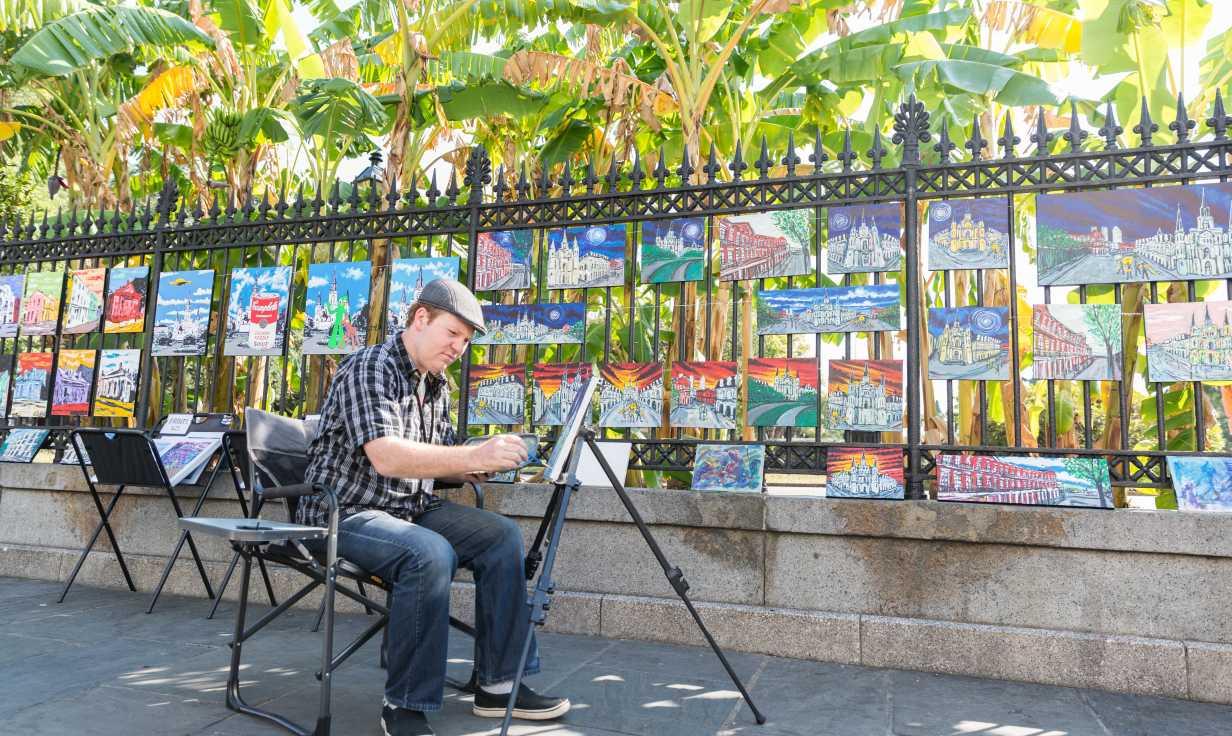 Jackson Square- Local Art