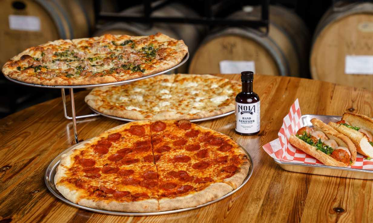 NOLA Pizza Co. (Photo credit Josh Brasted)
