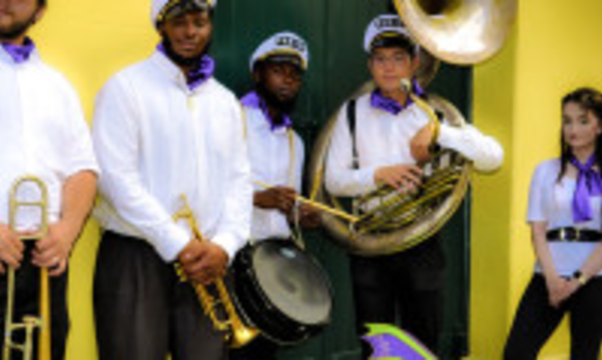 New Orleans Brass Band PARIGI