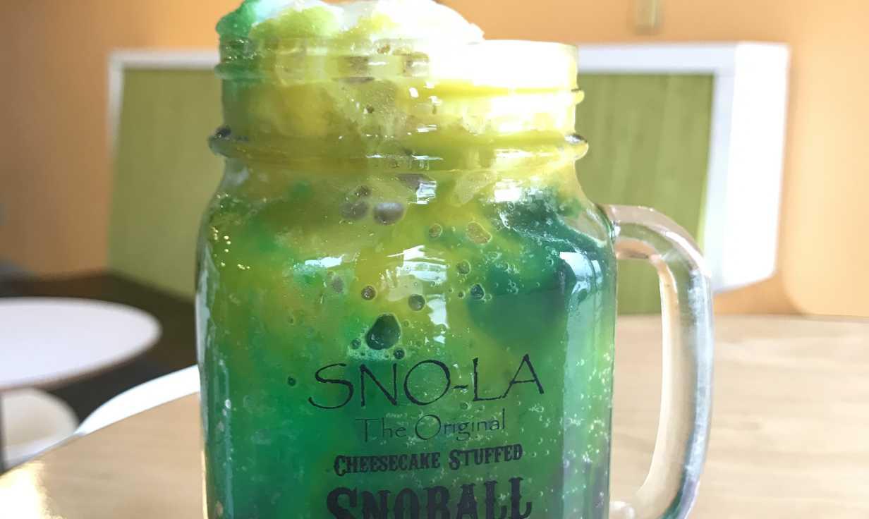 SNO-LA mason jar (Pour me something mister)