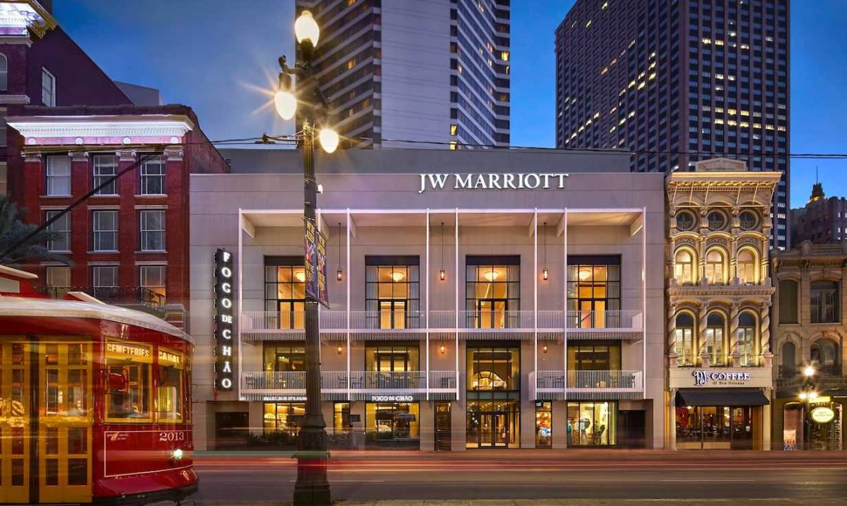 JW Marriott Exterior