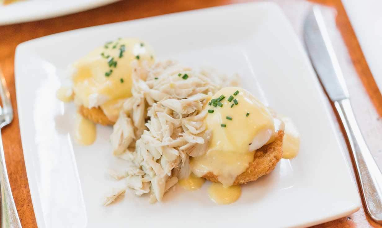 Atchafalaya- Uptown Brunch Restaurant- Eggs Benedict