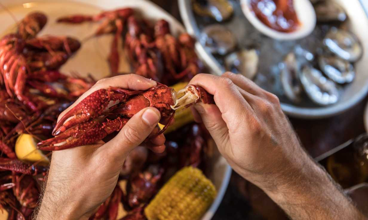 Frankie and Johnny's Seafood Restaurant- Crawfish