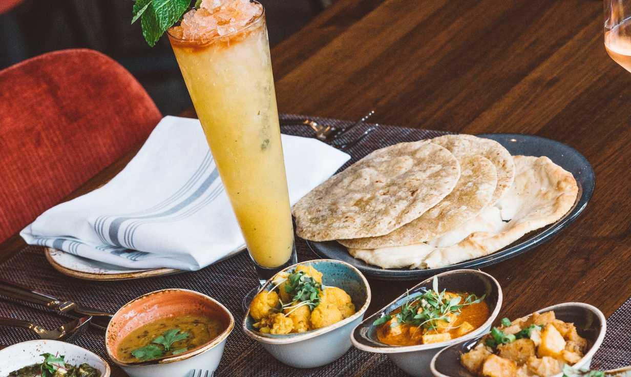 Saffron Nola- Indian Food
