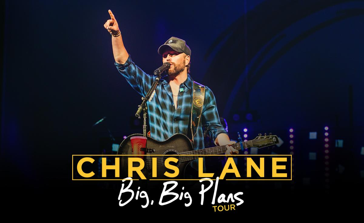 Chris Lane Fort Wayne Concert Promo