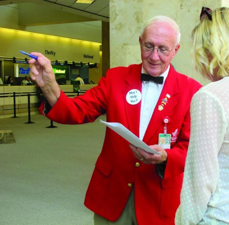 Irvine Airport Ambassador, Fred Welch