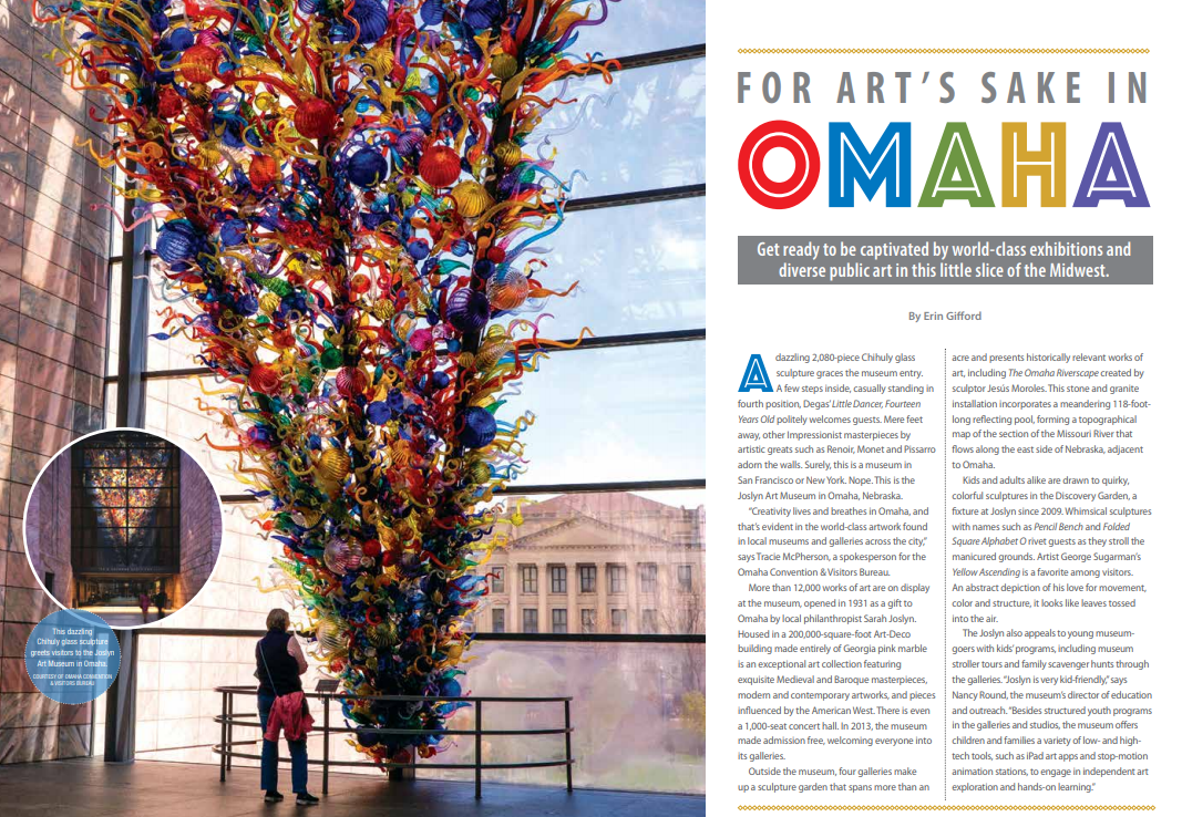 For Art's Sake in Omaha