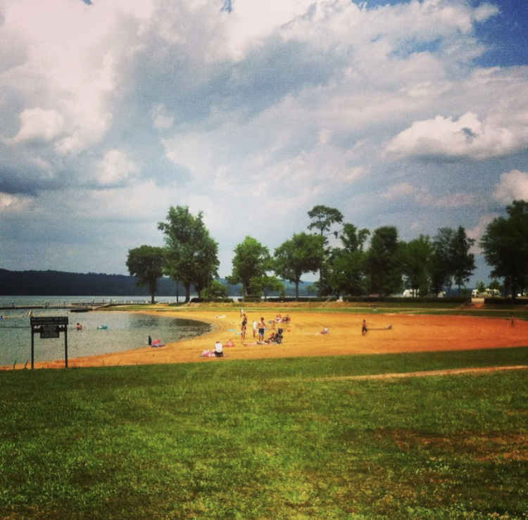 lake guntersville state park beach
