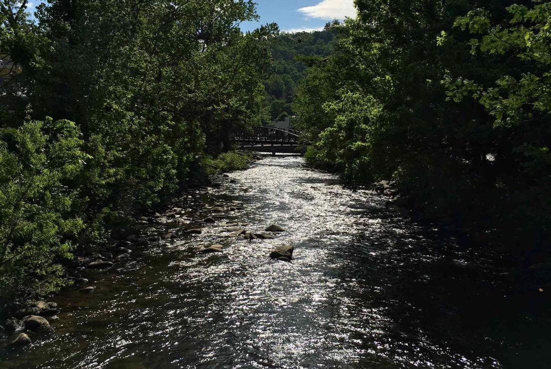River and Bridge Resize