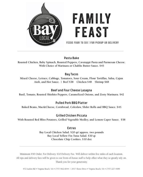 Bay Local Family Feast