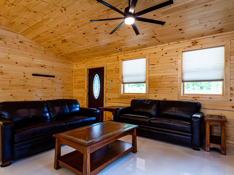 Cabin C Living Room