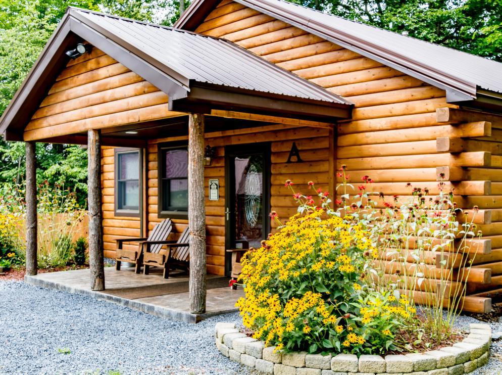 Cabin A exterior