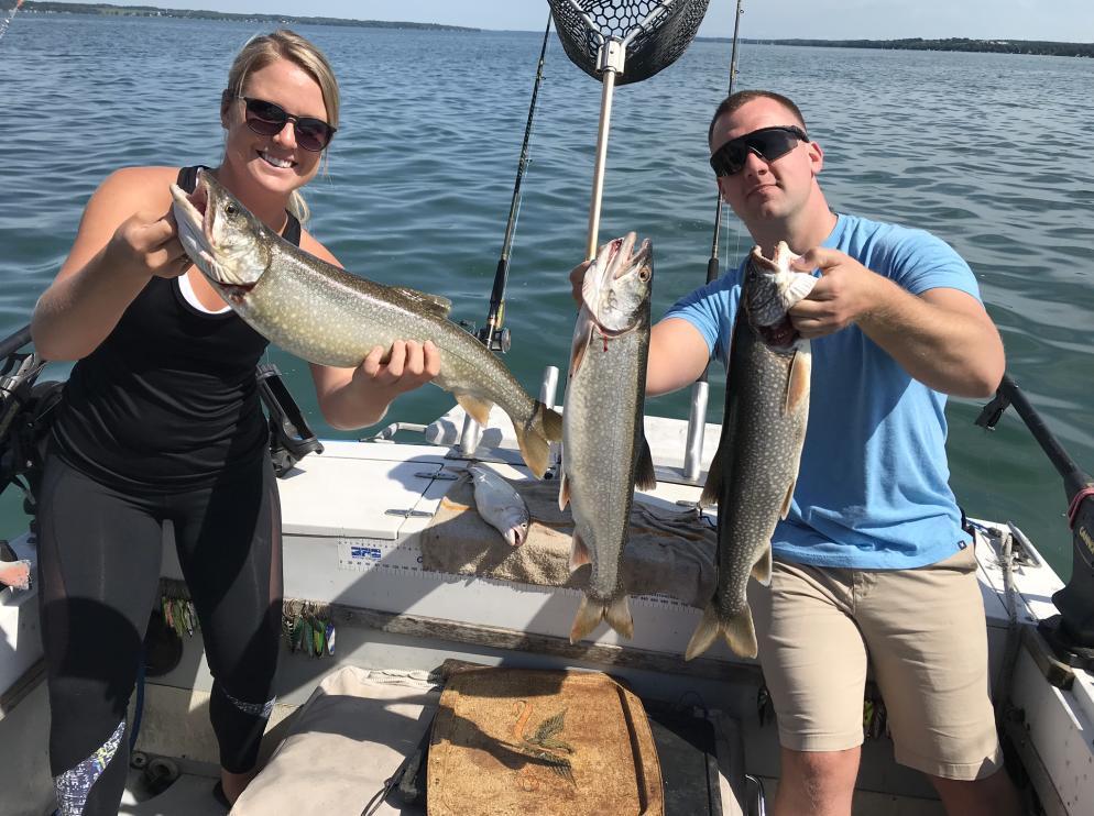 Cayuga lake fishing