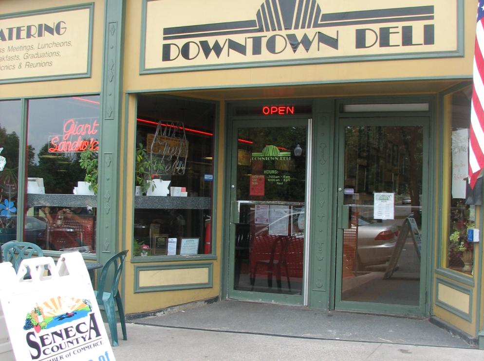 Downtown Deli Exterior