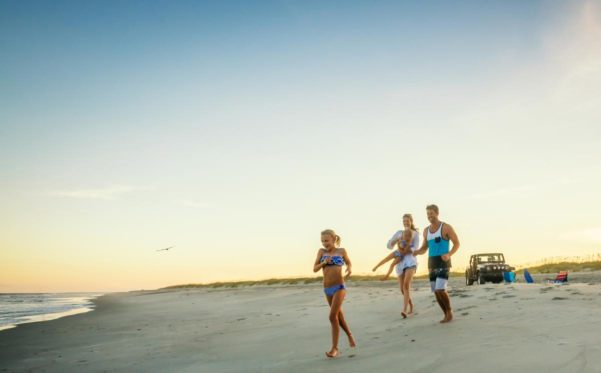 Fort Fisher State Recreation Area Family