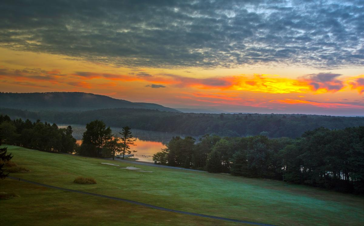 Pocono Mountains Sunsets