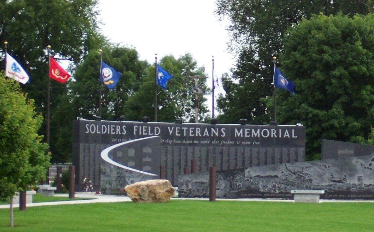 Soldiers Field Veterans Memorial in Rochester, MN
