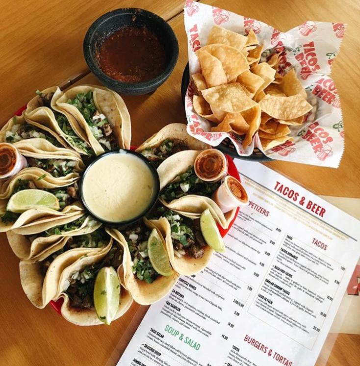 Dining Slidell's Tacos & Beer - IG @gabnizzle