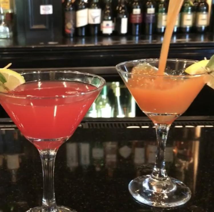 Bistro Byronz, happy hour cocktail