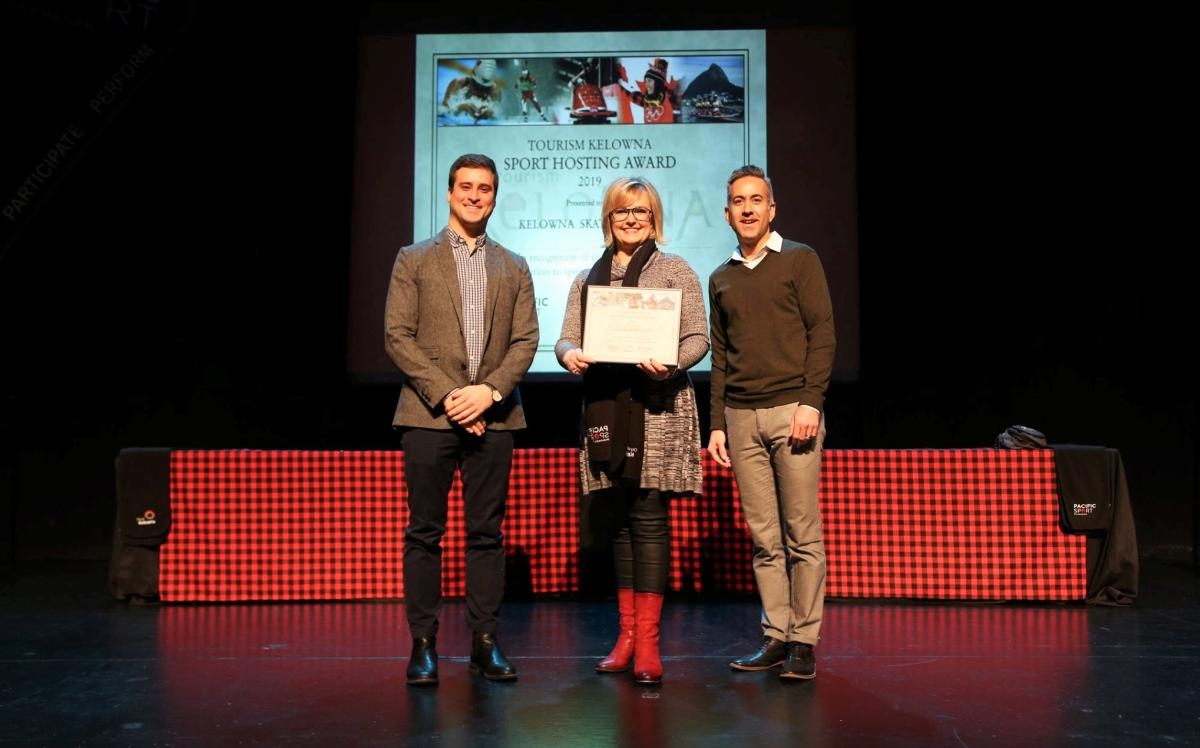 Kelowna Skating Club Sport Hero Award Presentation