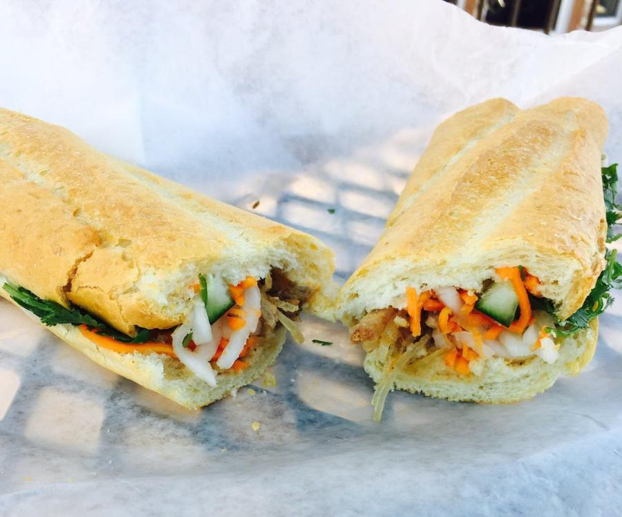 Bahn Mi Asian Food