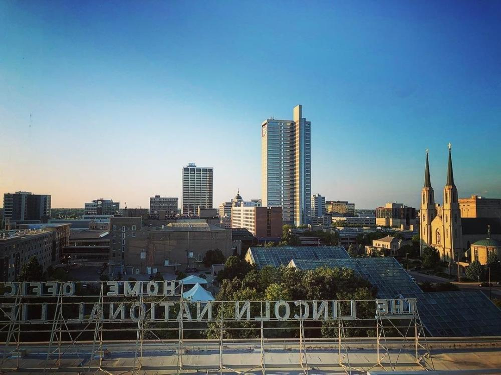 DO NOT USE Thomas Wiebe Downtown Fort Wayne Skyline Photo #MyFortWayne Photo