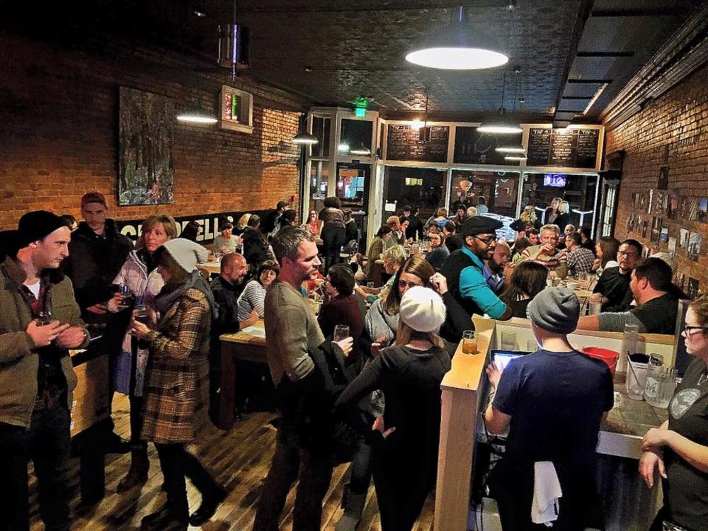 Opening Night at Trubble Brewing