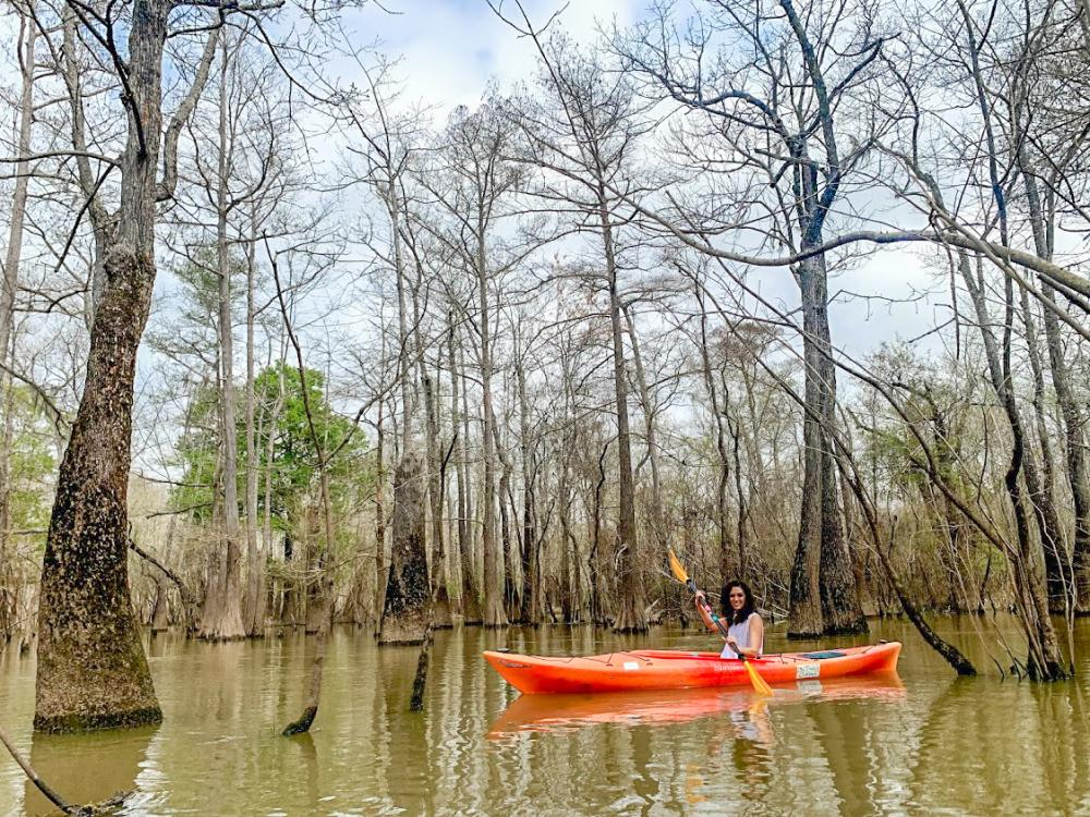 Kayaking Big Thicket