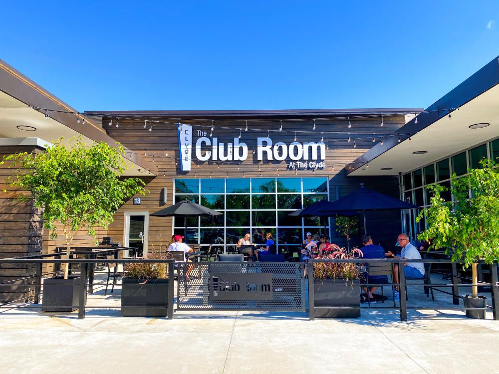 Th Club Room at the Clyde Patio