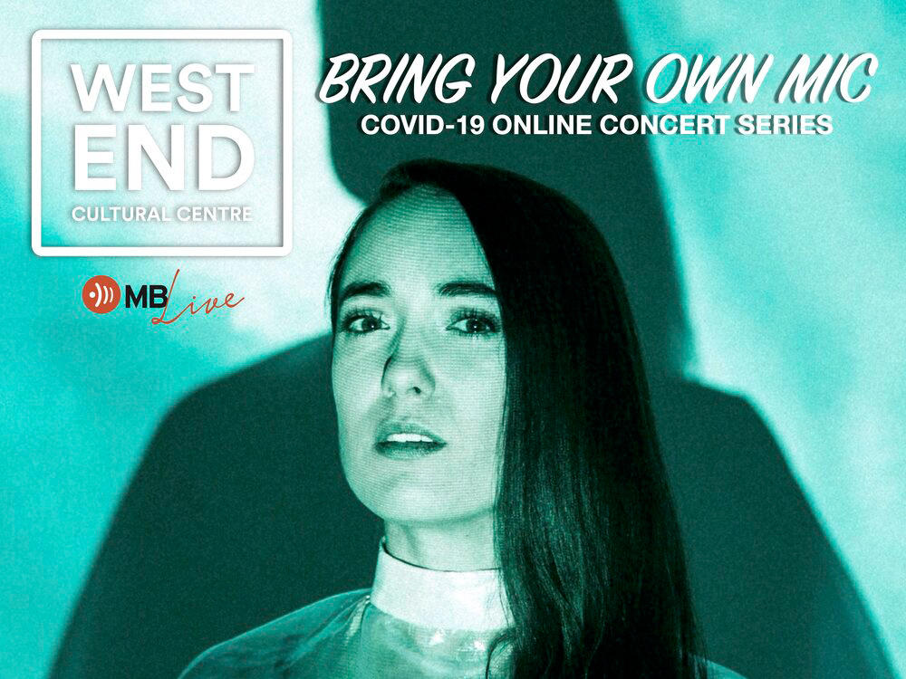 Rayannah online concert with the West End Cultural Centre