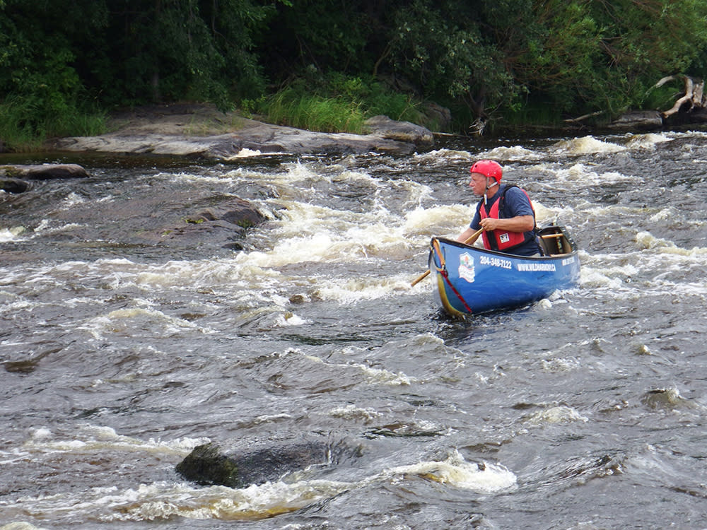 Paddling on the Whitemouth River