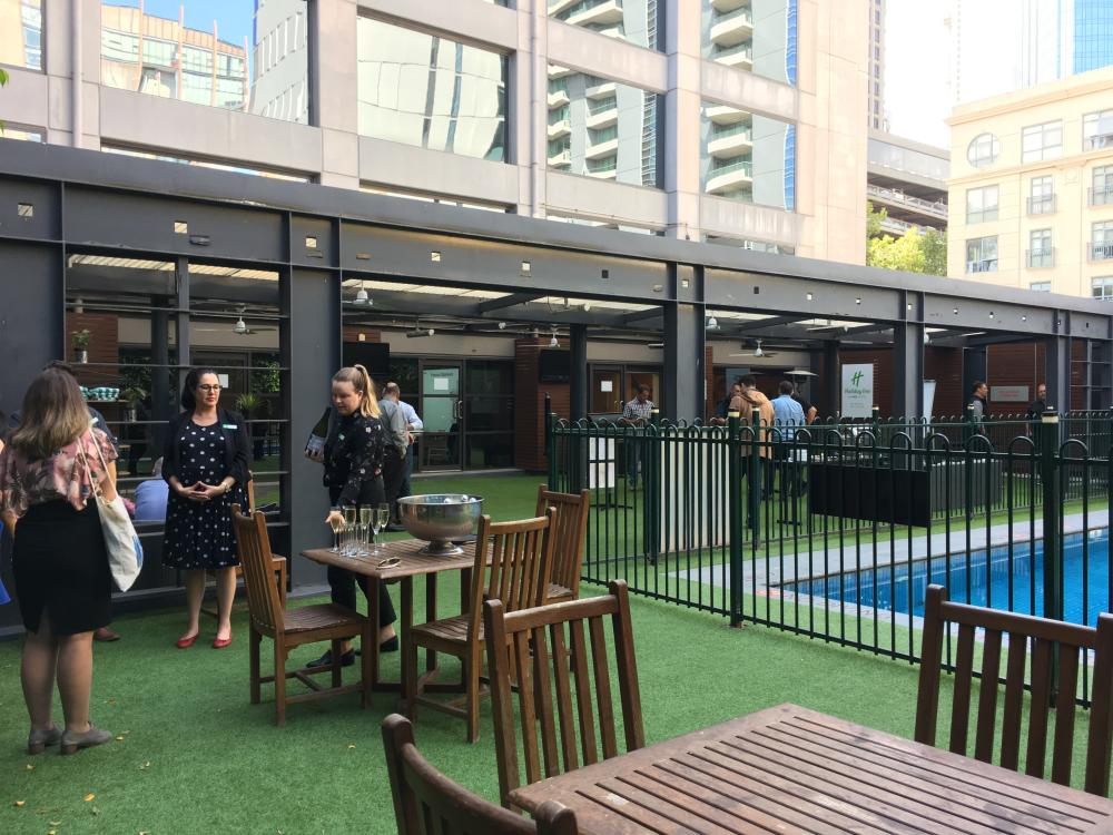 Melbourne Convention Bureau Tours the Holiday Inn on Flinders