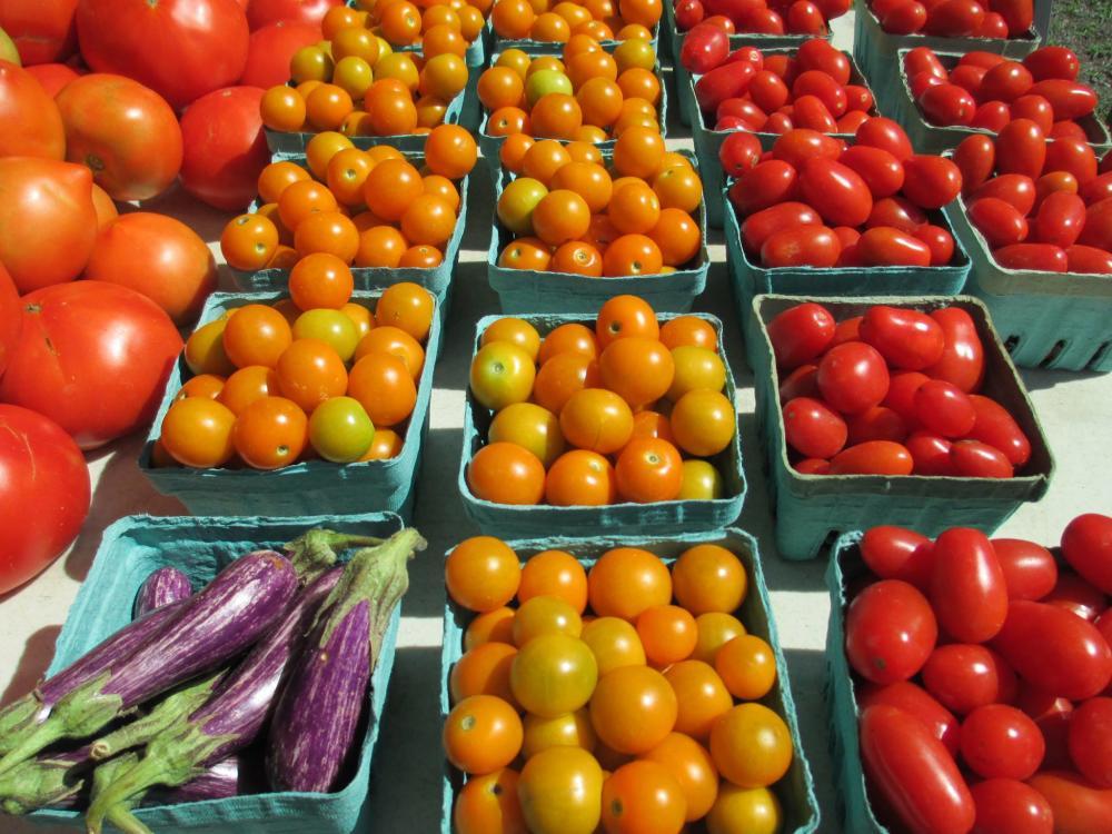 Ashland Farmers Market tomatoes