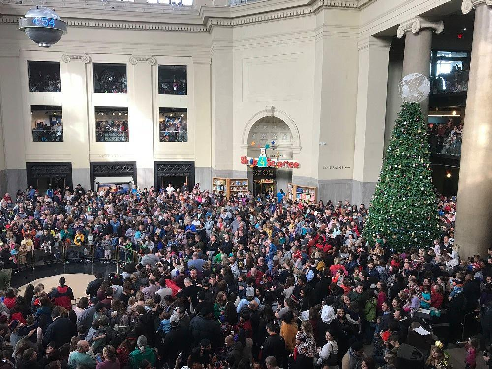 Noon Year's Eve at Science Museum of Virginia
