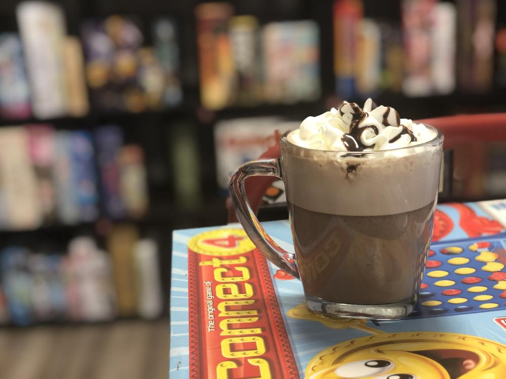 Hot Chocolate at Sente: Games and Refreshments