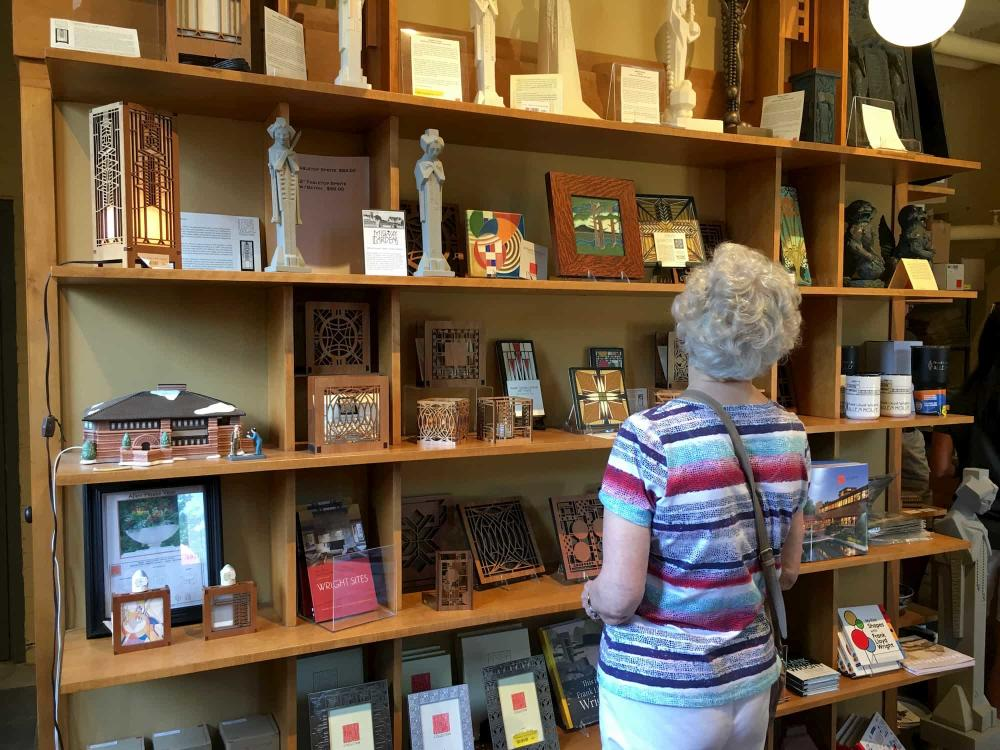 Gift Shop at Frank Lloyd Wright's Allen House