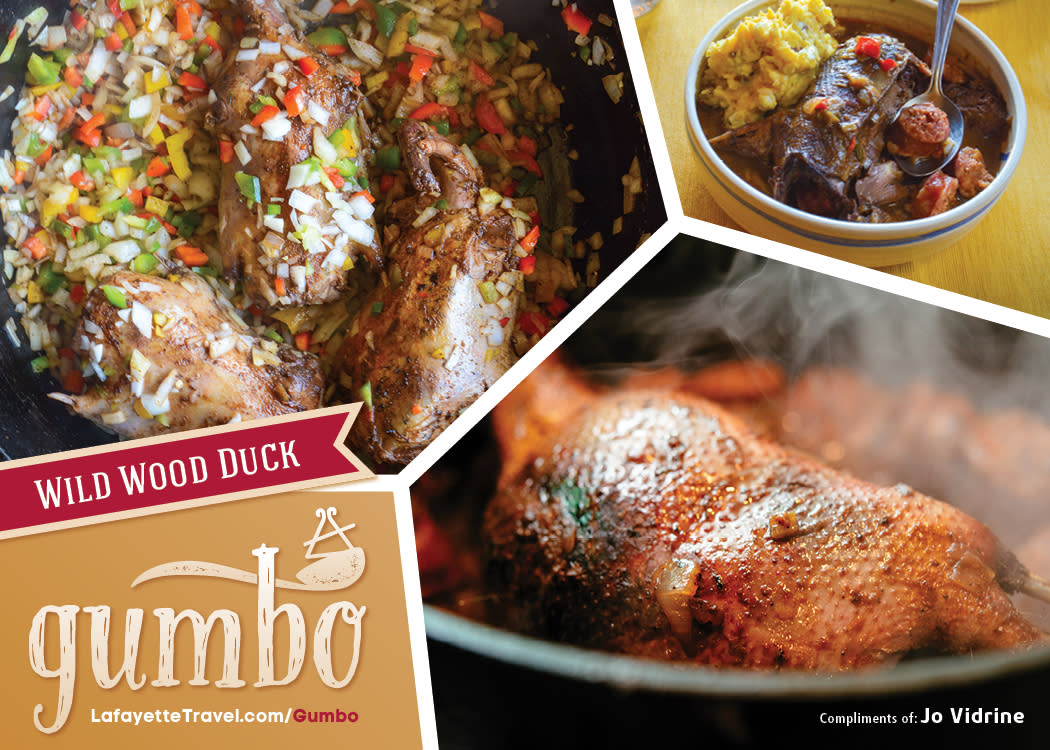 Wild Wood Duck Gumbo Recipe