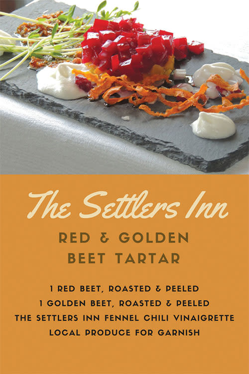 Beet Tartar Recipe Card Resized