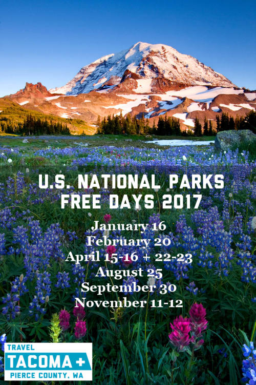 U.S. National Parks Free Days at Mount Rainier